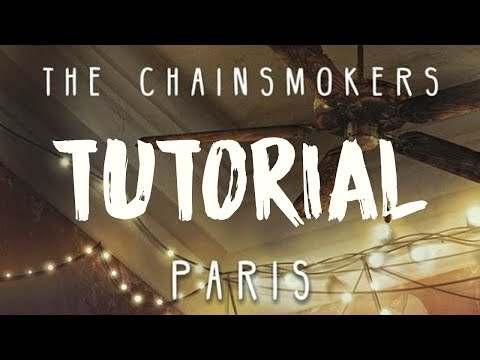 After Effects Tutorial : The Chainsmokers - Closer/Paris (Lyric Animation)