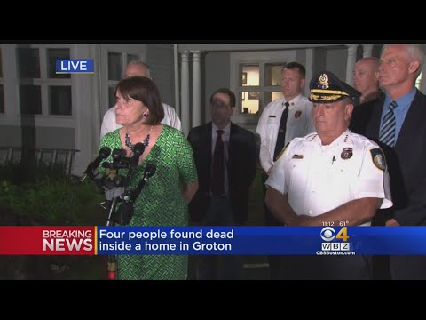 Middlesex District Attorney Holds Press Conference About Groton Murders
