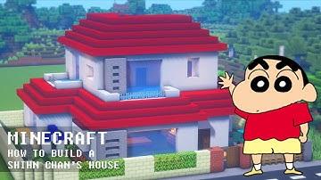 마인크래프트 건축 강좌 : 짱구네 집 l 단독주택 6 🏡