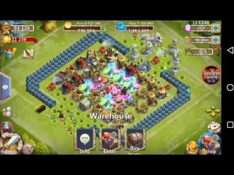 Castle Clash: Unlocking And Leveling Up Artifacts