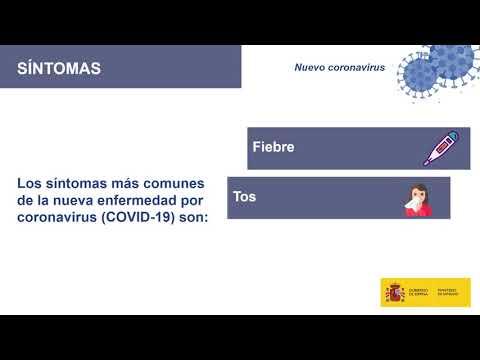 Campaña informativa Ministerio Sanidad - Coronavirus