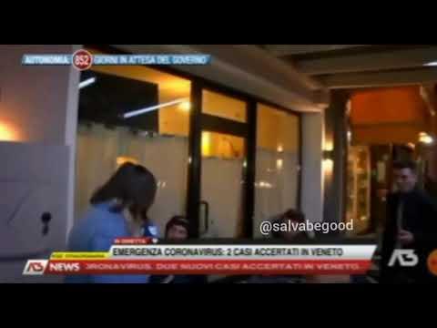 Ragazzi veneti al bar sul Coronavirus: 'abbiamo l'alcol che ci protegge'