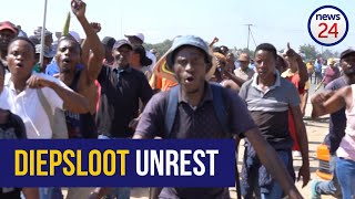 WATCH   Diepsloot residents demand military presence after cop's death