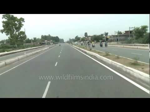 Highway to Pakistan, from India, on NH1!