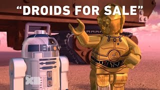 Droids For Sale - LEGO Star Wars: Droid Tales – Mission to Mos Eisley Preview