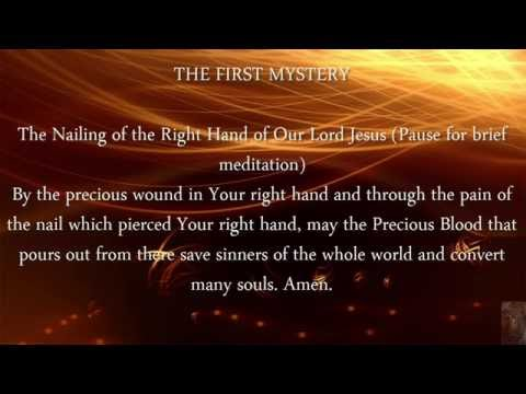 Chaplet of the Precious Blood of Jesus Christ No Chanting Music