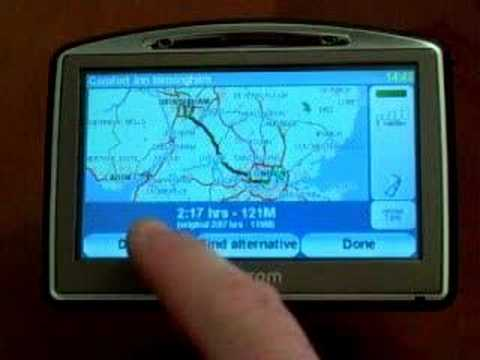 New TomTom Go 520 / 720 Sat Nav Review / Demo