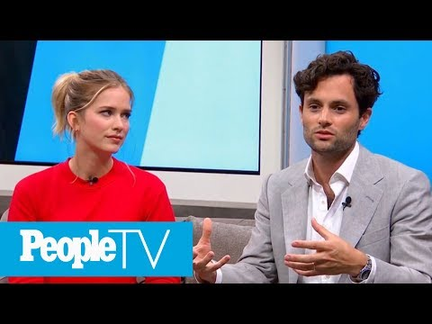 Penn Badgley On Creating A 'Chaste' Environment While Filming Edgy Series 'You' | PeopleTV