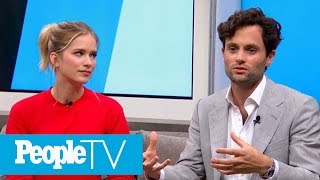 Penn Badgley On Creating A 'Chaste' Environment While Filming Edgy Series 'You'   PeopleTV