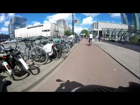 #GoPro scooter cam/ride through Rotterdam - #Ep.4