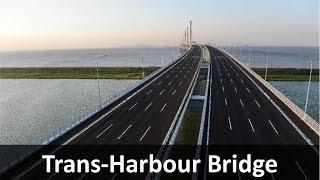 Navi Mumbai International Airport Sea Bridge