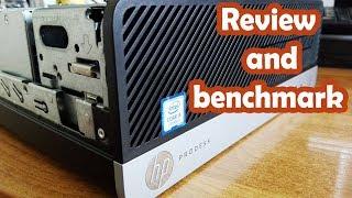 TECH:HP ProDesk 400 G4 Core-I5 7500   HP ASZTALI PC TESZT 2018   Benchmark and Review