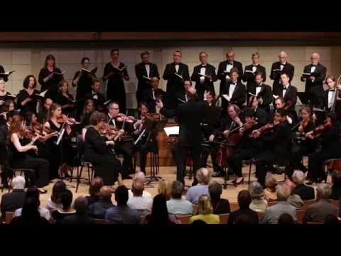 I am very proud to be a founding member of the American Bach Soloists. You can see me singing Chorus Alto in this video.