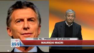 Video: Mauricio Macri a solas con FM Profesional 89.9 junto a Martín Grande