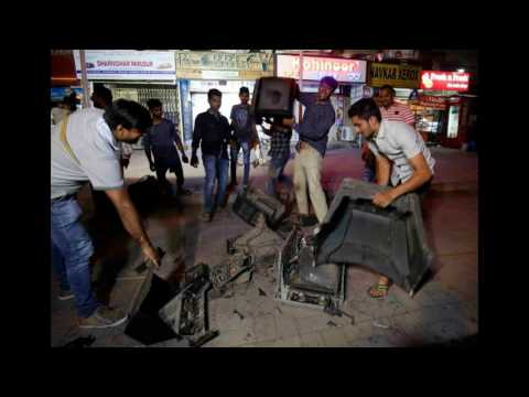 Disappointed fans smash TV screens after INDIA vs PAKISTAN