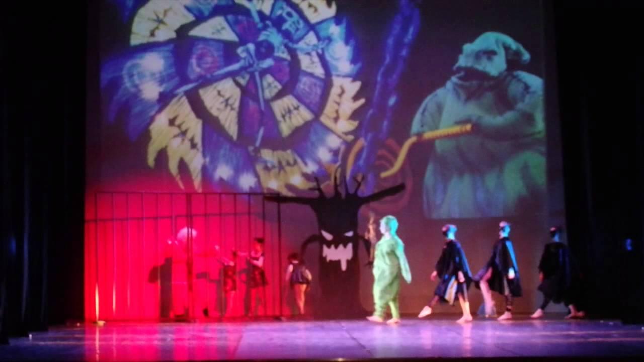 The Nightmare Before Christmas Musical Modern Kids - YouTube