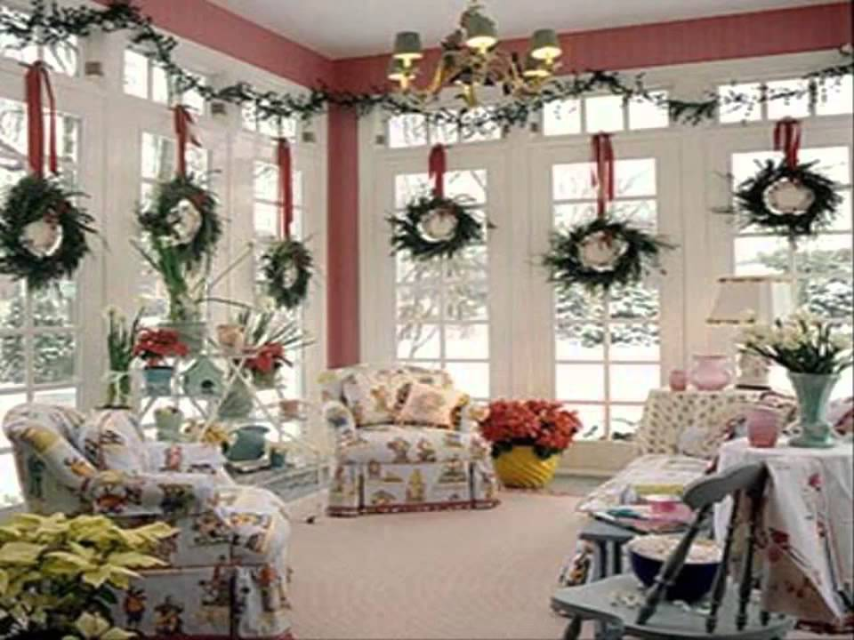 Decorating Ideas For Christmas Best Design Youtube