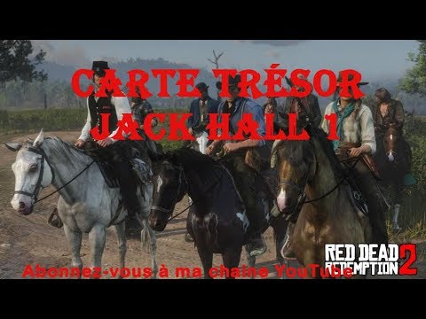 Carte Trésor De La Bande Jack Hall 1 Red Dead Redemption 2 Présenté Par Tueurdebikette