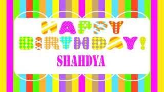 Shahdya   Wishes & Mensajes