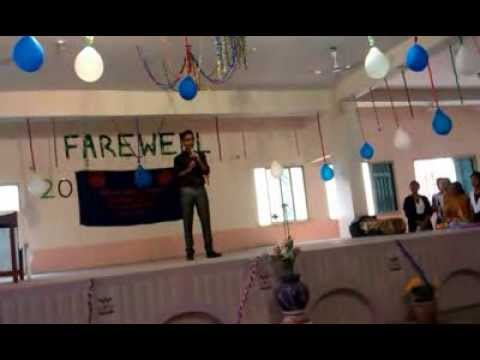 Awesome farewell speech by Student of KMSSS - YouTube