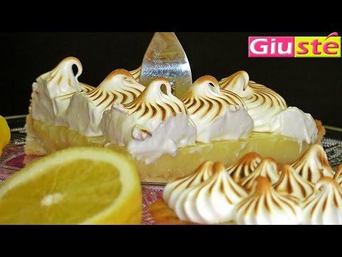 Tarte au citron meringuée.La recette de Giusté.