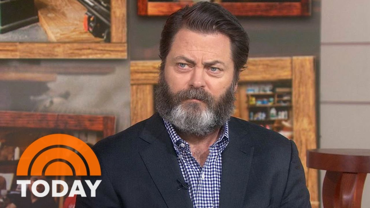 nick offerman: my woodworking book includes jokes, style tips | today