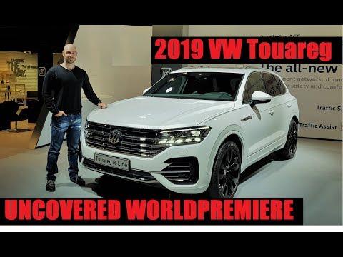 NEW VW Touareg 2019 - UNCOVERED - Interior + Exterior