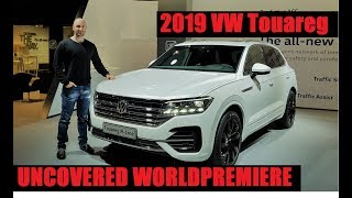 NEW VW Touareg 2019 - UNCOVERED - Interior + Exterior