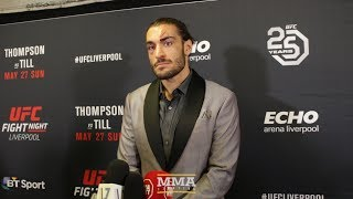 UFC Liverpool: Elias Theodorou Explains Why He Wants Lyoto Machida Next - MMA Fighting
