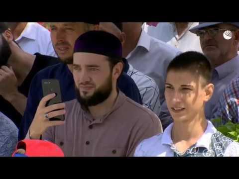 Открытие самой большой мечети в Европе