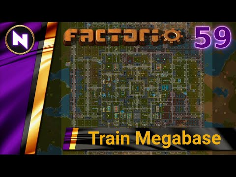 Factorio 0.18 Train Megabase #59 DEBRIEFING AND LESSONS LEARNED