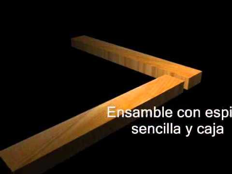 Ensambles de madera - YouTube