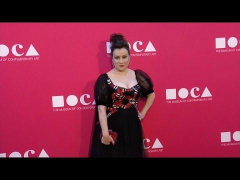 Jennifer Tilly 2017 MOCA Gala Purple Carpet