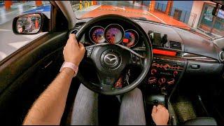 2007 Mazda 3 Night [2.0 MZR 150HP]   POV Test Drive #816 Joe Black