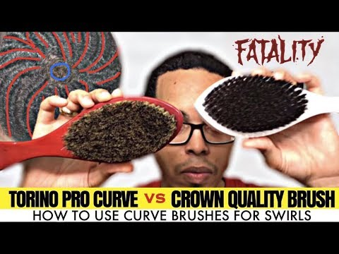 torino pro brush. fatality: #370 torino pro curve brush vs crown quality (aka cqp) review (hd) s