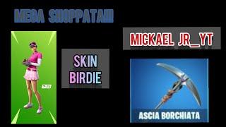 "Fortnite Stream - Shoppo the new golf skin ""Birdie"" and the pickaxe ""Snail axe""... /36/"