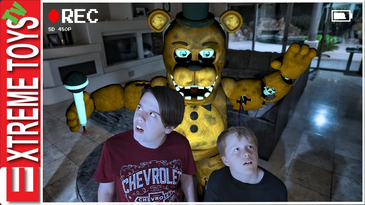 Download Freddy is in our House! Sneak Attack Squad Tries Five Nights At Freddy's!