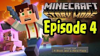 "Minecraft: Story Mode - EPISODE 4 - Walkthrough ""A Block and a Hard Place"" (1)"