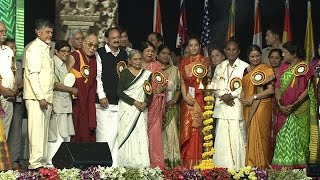 His Holiness address National Womens' Parliament, Amravati