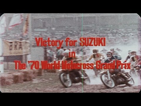 Suzuki 1970 Grand Prix Motocross Season Film (rare)