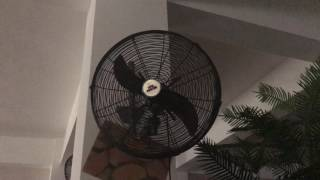 Cool Master Wall Fans at an Eating Area in a Church