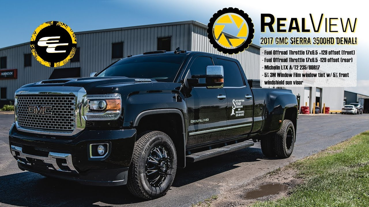 realview 2017 gmc sierra 3500hd denali w dually 17. Black Bedroom Furniture Sets. Home Design Ideas