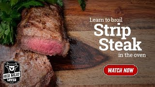 Cook Steak In Oven - How To Broil Steak, EASY!