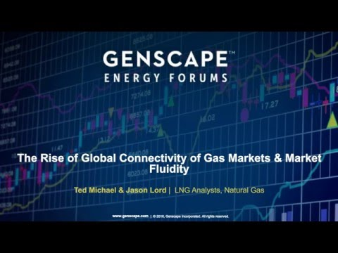 The Rise of Global Connectivity of Gas Markets & Market Fluidity | Genscape