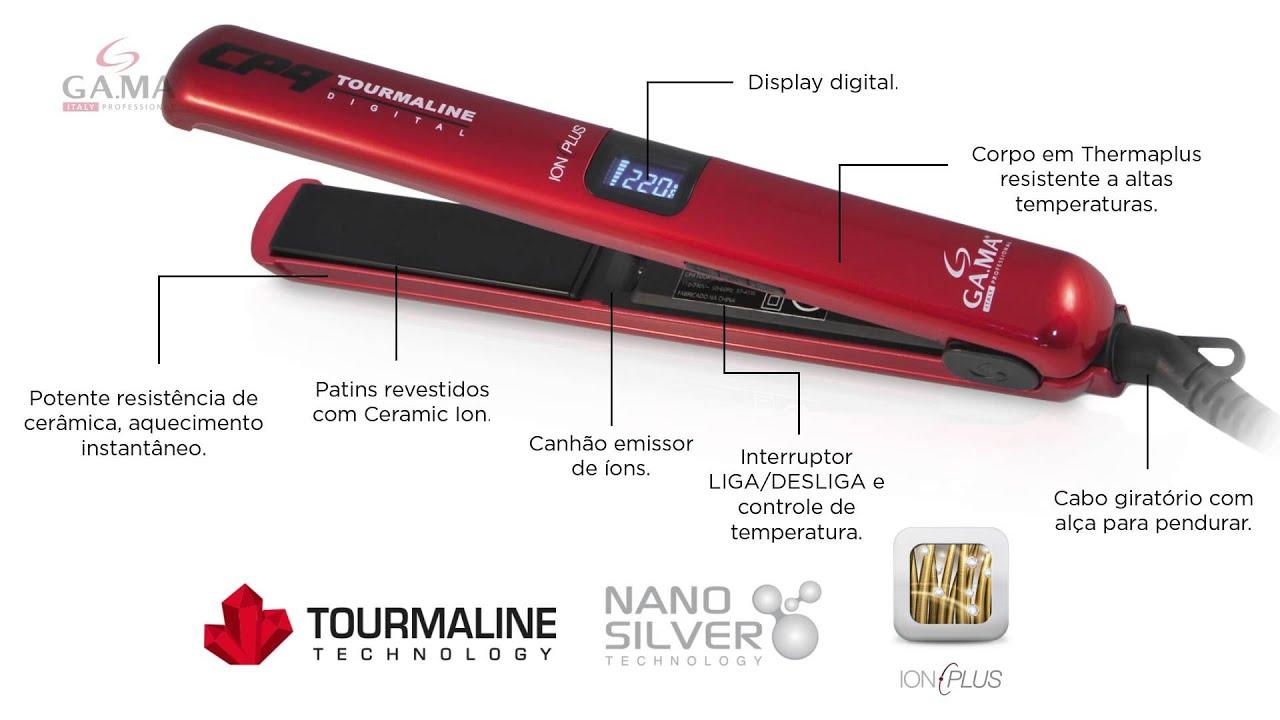b23c4b207 Prancha CP9 Tourmaline Digital Ion Plus. GA.MA Italy