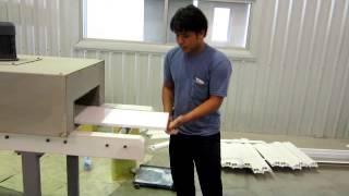 видео Экструзионное оборудование и линии из Китая