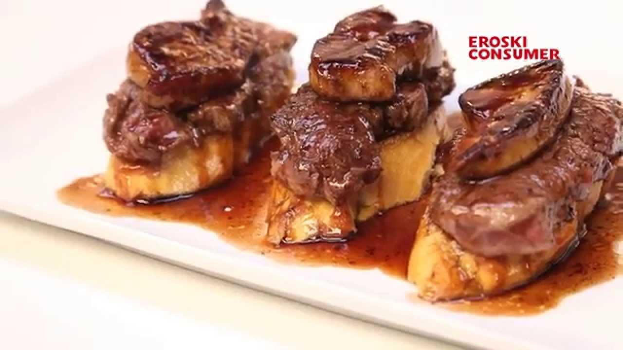 Solomillo con foie y salsa de oporto youtube - Salsa de oporto para solomillo ...