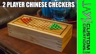 Make A 2 Player Chinese Checkers Game Box - 150