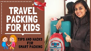TRAVEL PACKING FOR KIDS: Smart Packing Tips and Hacks for Toddler Bag Packing (Pack With Me)