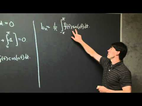 Computing Fourier Series | MIT 18.03SC Differential Equations, Fall 2011